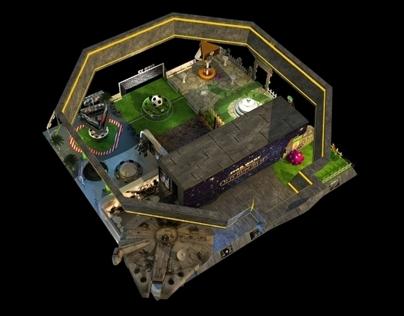 EA booth design