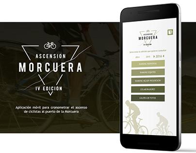 App Móvil Ciclismo Crono / Chrono Cycling Mobile App