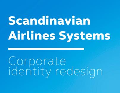Scandinavian Airlines redesign