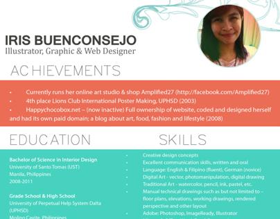 2013 CV & Business Card
