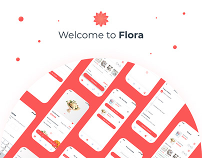 Flora – Mobile App UX/UI
