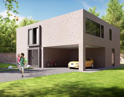 Modular house visualisation