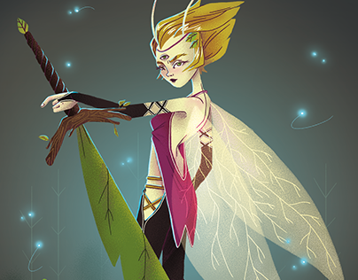 Character Design Challenge - Insect Warrior -