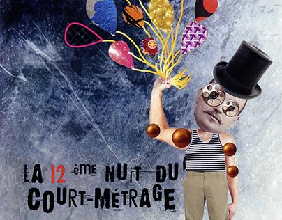 6°Pub - Création Affiche Festival du Court Métrage