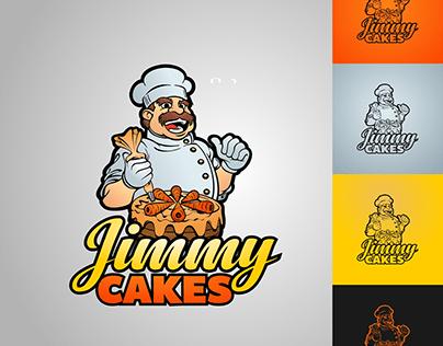 Designed logo for Jimmy Cakes