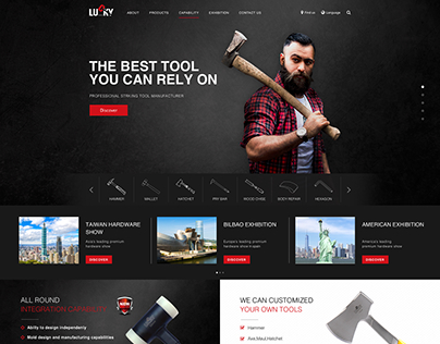 Lucky Tools offical website 幸記工業官方網站