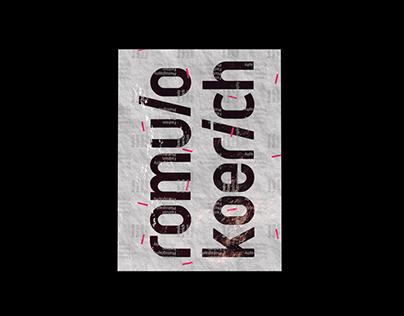 Romulo Koerich | Visual Identity