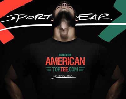 American Top Tee / #branding