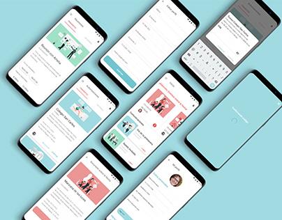 UX/UI Design - Combook app