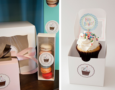 In-store Signage & Packaging for Bakery