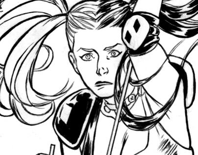 Harley Quinn - Comic page