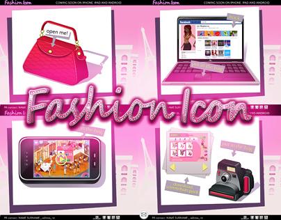 Fashion Icon Minisite