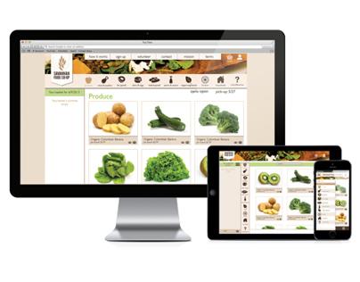Savannah Food Co-Op Online Service Redesign