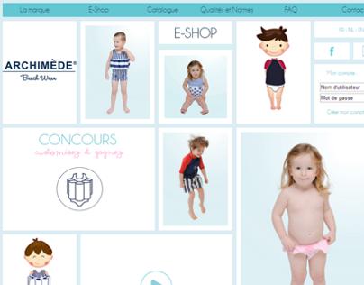 Mémoire médiatique - Site Web - Archimède 2013