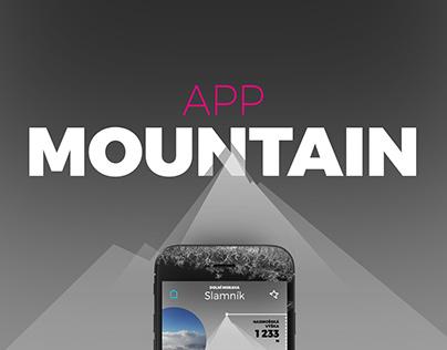 Mountain app concept