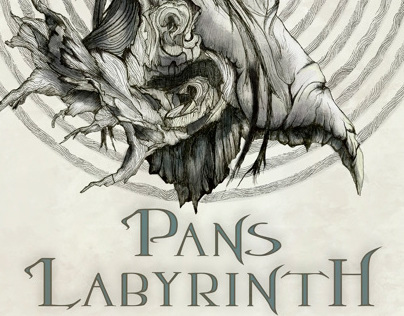 Pan's Labyrinth Poster Illustration