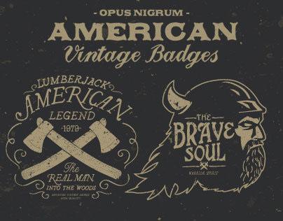American Vintage Badges Part 3