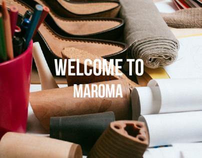 Single Page Website - Shoes Company