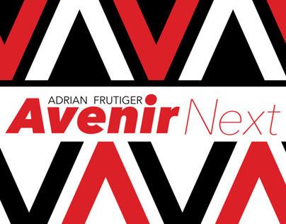 Avenir Next Type Poster