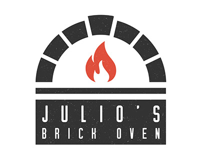 Logo design for a pizza place