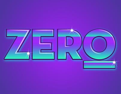 Zero - visual identity