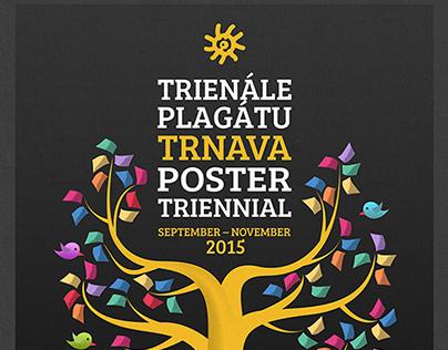 Trnava Poster Triennial 2015 - identity contest entry