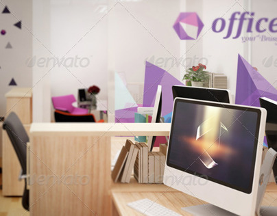 Mockup Branding For Small Offices On Behance