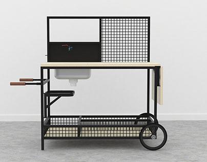 WEK mobile kitchen