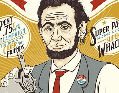 Dollar Shave Club - Presidential Portraits