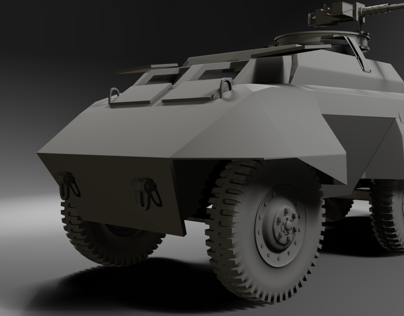 M-20 Utility Car - Work in Progress