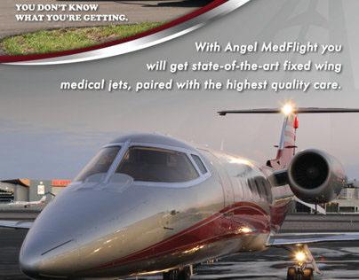 Angel MedFlight Branding