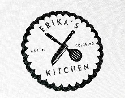 Erika's Kitchen Logo & Web Design