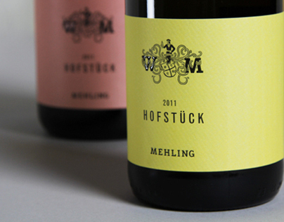 Mehling winery identity