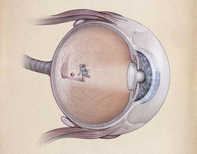 VOLVO V40 eye