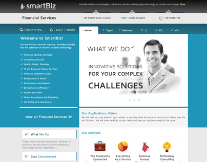Smartbiz - Joomla Template