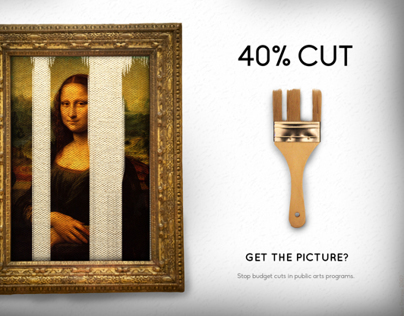 Save the Arts Advertisement