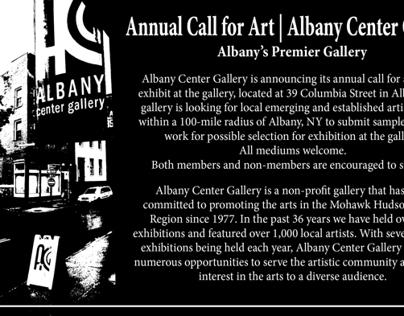 ACG Annual Call for Art card Summer 2013