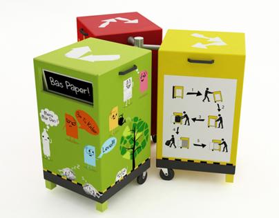 Segregated Recycle Bins