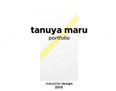 INDUSTRIAL DESIGN PORTFOLIO 2019