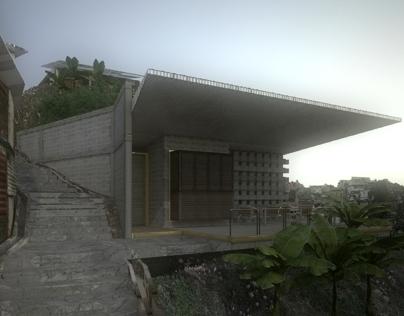 Casa Bodega/ Barrio La Dolorita, Caracas/Ven