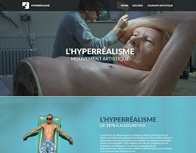 WEB DESIGN - Hyperréalisme