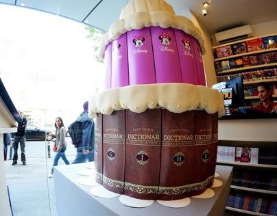 Giant cake for Litera publisher. 25 anniversary.
