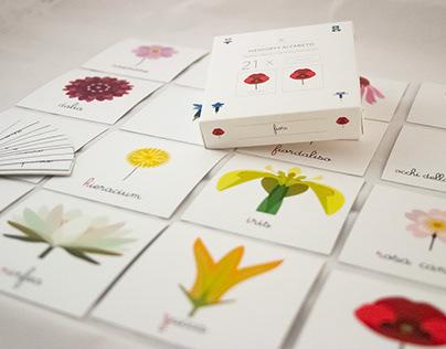 Memory & Alphabet of the Flowers