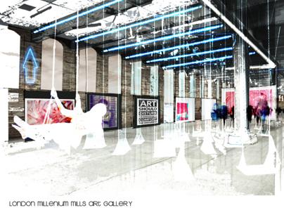 London Millennium Mills Design Proposal