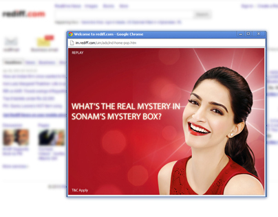 Colgate Visible White Pre Launch Banner Ads