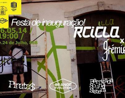 Recicla x Camisola Amarela x Grémio - THE BIG OPEN