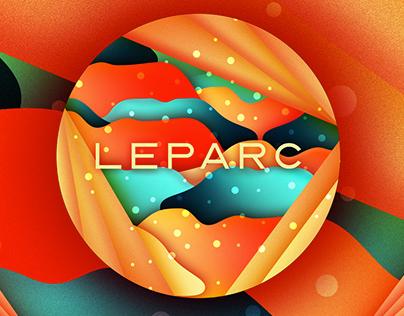 Corporate screensaver for LEPARC