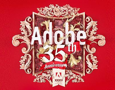 Adobe 35th Year Anniversary