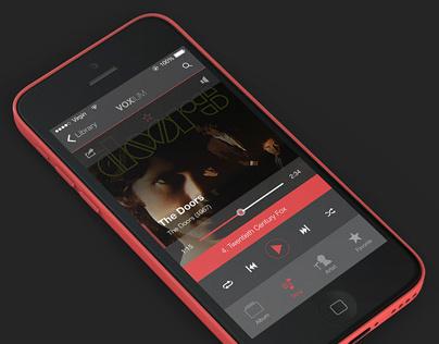 Voxium Music Player for iOS7
