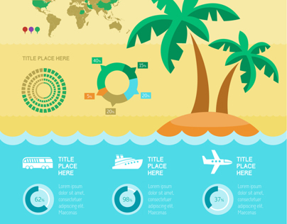 Travel Infographic Templates.